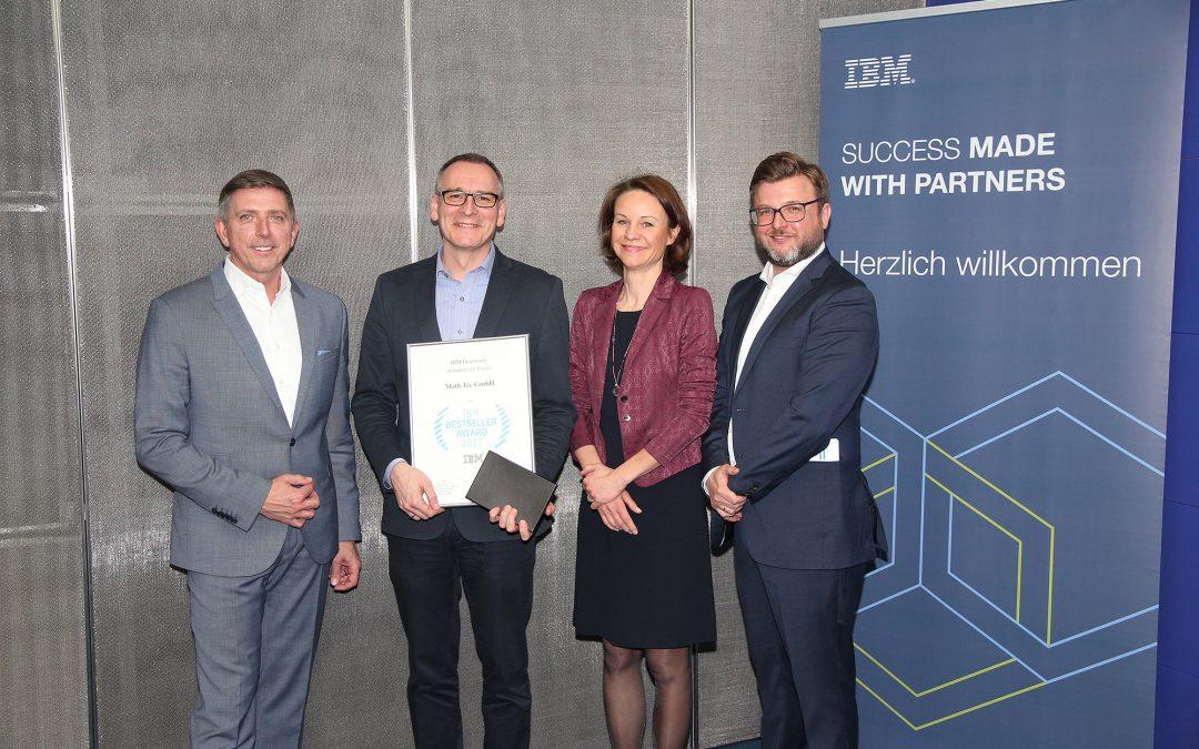 Math.Tec – Gewinner des IBM BESTSELLER AWARD 2017